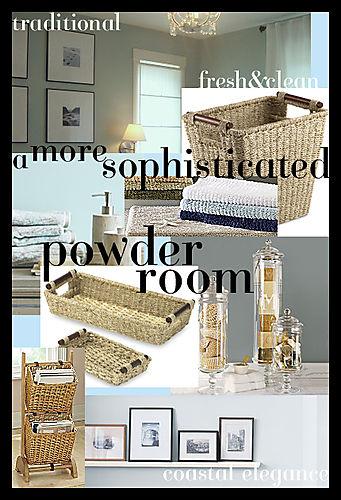 Powder Room Inspiration Board